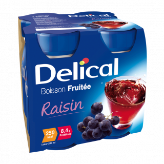 Delical fruitdrank 4x200ml