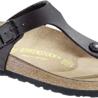 Birkenstock slipper gizeh black