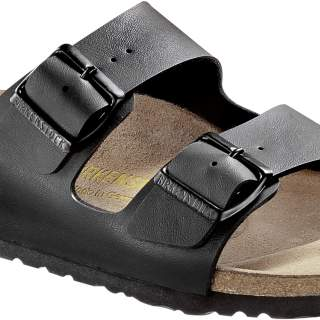 Birkenstock slipper arizona black